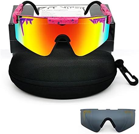 Polarized Sunglasses for Men Women, Outdoor Sports Windproof UV400 Eyewear for Driving, Golf etc