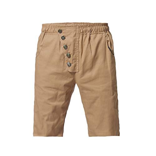 Men's Industrial Cargo Shorts, Mmnote Multi Pocket Casual Summer Drawstring Basic - Mayhem Youth Pant