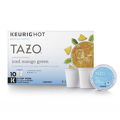 Tazo Unsweetened Iced Mango Green Tea K-Cup (60 single-serve K-Cup Pods)