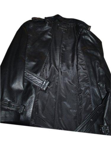 Ile Saint Jean Damen Trenchcoat Mantel schwarz schwarz