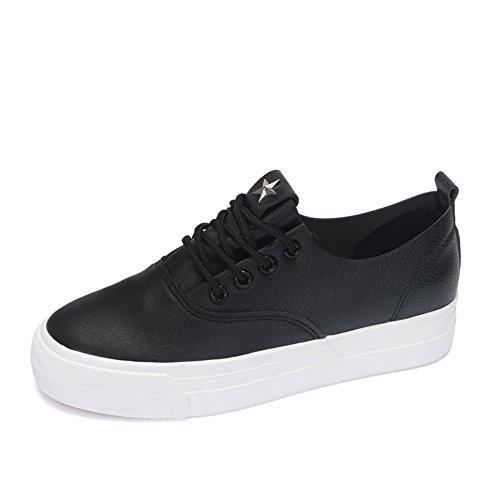 Verano y otoño para ayudar a los zapatos bajos de fondo grueso/ color metálico zapatos de moda salvaje B