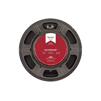 Eminence Red Coat The Governor 12 Inch Guitar Speaker 75 Watts 8 Ohm