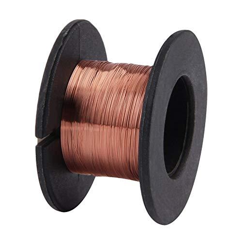 1 bobine de r/éparation en cuivre de 0,1 mm /à souder PPA /émaill/ée pour r/éparation de fil /à mouche 0,1 mm