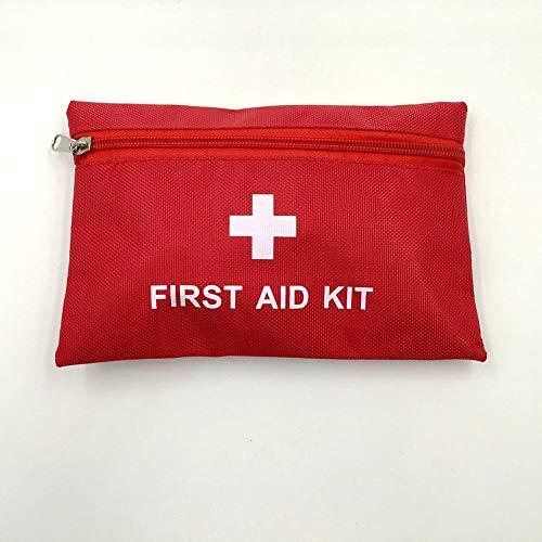 (Leoie Portable Medicine Survival Bag Set for Home Outdoor Car Travel Emergency)
