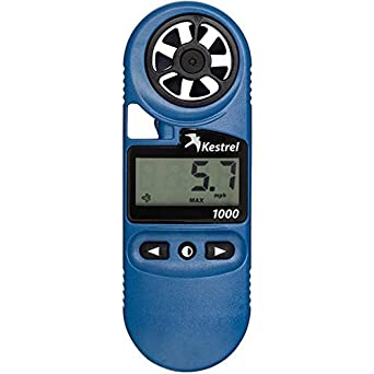 Kestrel 1000 Wind Meter,Color:Blue,Part # 0810,Made in USA,Brand New