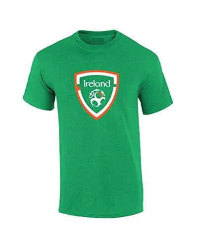Local Imprint Men's Ireland Soccer T-Shirt XL (Ireland Football)