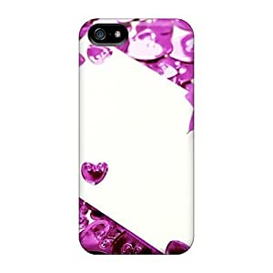 New Style PC Case For HTC One M8 Cover Protective Case Cover/ Iphone CaRose Hearts
