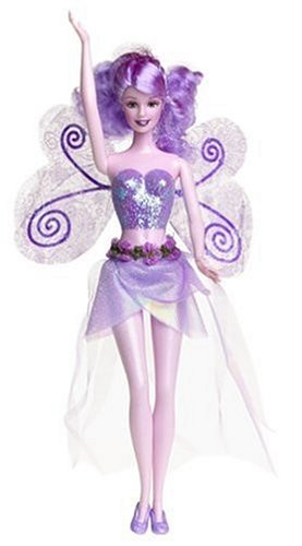 Barbie Fairytopia - Lavender Sparkle Fairy Barbie Doll