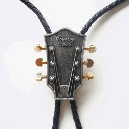 Guitar Head Bolo Tie