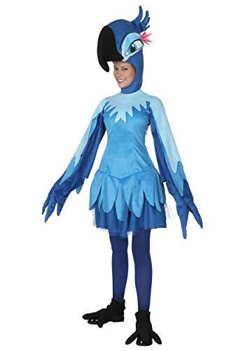 Rio Bird Costume (Adult Rio Jewel Costume Large)