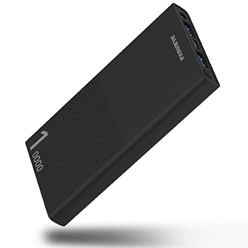 Portable Charger 10000mAh Cell Phone Portable Battery Charger External Battery Power Pack Mobile Charger Backup Power Bank Compatible with iPhone Xs XR X 8 7 iPad Samsung Galaxy S9 S8 & Android Phones