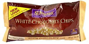 SunSpire White Chocolate Chips, 10 Ounce Bag