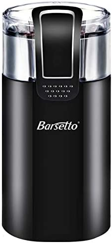 Coffee Grinder Electric,Barsetto150W Powerful Blade Coffee Bean Spice Grinder
