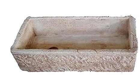 Lavello Da Giardino In Plastica : Lavello lavabo in cemento da giardino lavello rustico misura