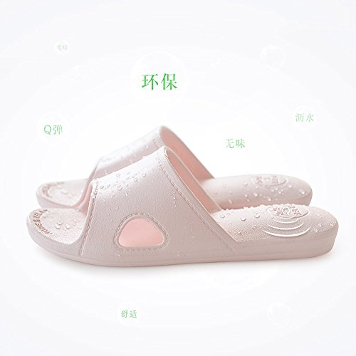 slip women Summer slippers bathroom slippers slippers men non indoor floor 37 Pink for and 38 home wqvrIdnqBW