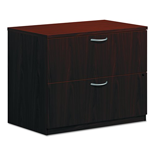 - HON 2-Drawer Office Filing Cabinet - BL Laminate Series Lateral File, 22