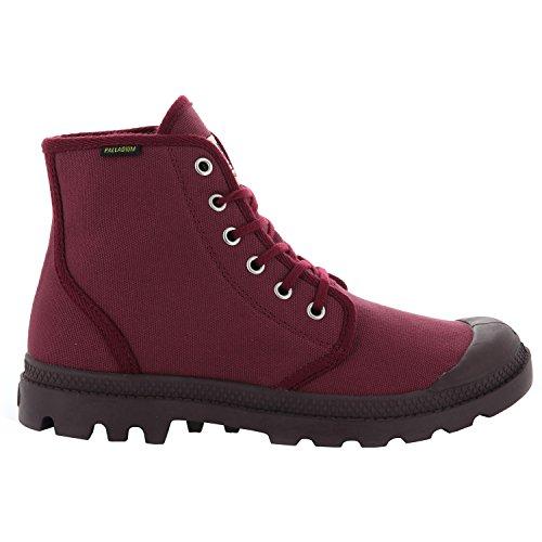 Palladium Unisexe Adulte Pampa Hi Chaussures De Sport D'origine, Cabernet