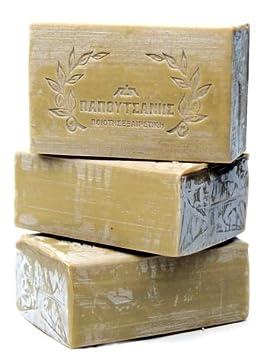 Papoutsanis Olive Oil Soap 3 Bars 8.4oz 250gr each