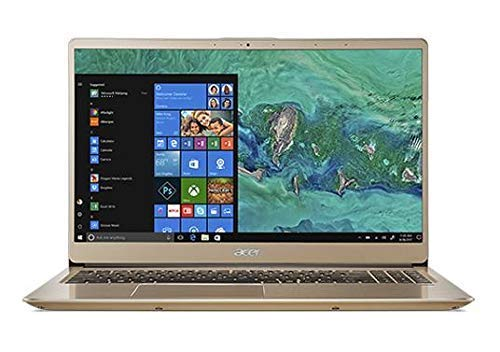 Acer Swift 3 SF315-52 Slim Laptop in Gold 8th Gen. Quad Core Intel i5 up to 3.4GHz 24GB (16GB Optane + 8GB DDR4 RAM) 1TB HDD 15.6in Full HD Fingerprint Reader (Renewed)