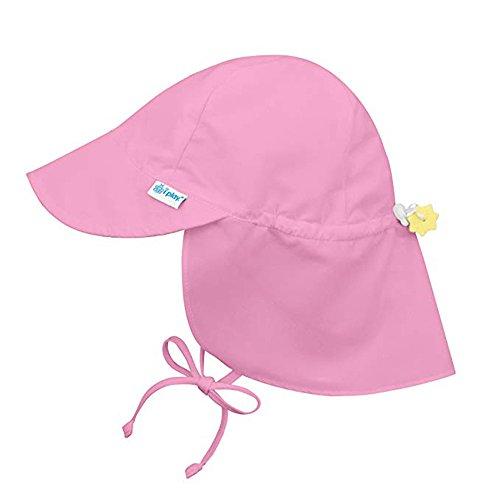 Tantisy ♣↭♣ Toddler Brim Sun Protection Hat Summer UPF 50+ All-Day Sun Boys Girls Fashion Adjustable Flap Sun Hat Visors Pink
