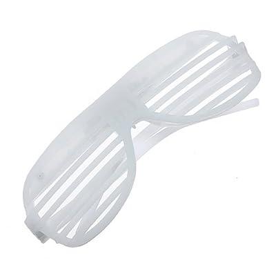 Water & Wood Light UP LED Fashing Multi-color Rockstar Sunglasses(Color Random): Toys & Games