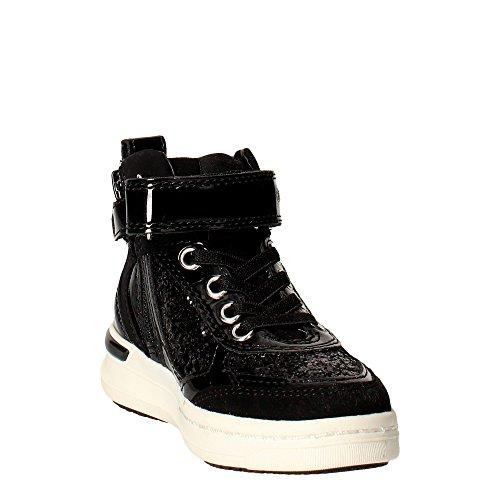 Geox Unisex - niños Zapatillas de Gimnasia negro