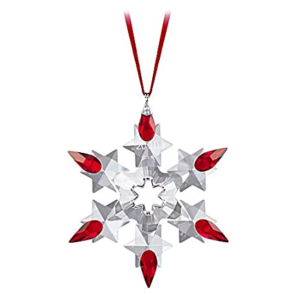 Swarovski 2010 Limited Edition Crystal Snowflake Ornament - Amazon.com: Swarovski 2010 Limited Edition Crystal Snowflake