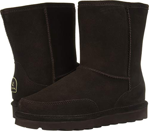 BEARPAW Men's Brady Fashion Boot, Chocolate, 10 M US