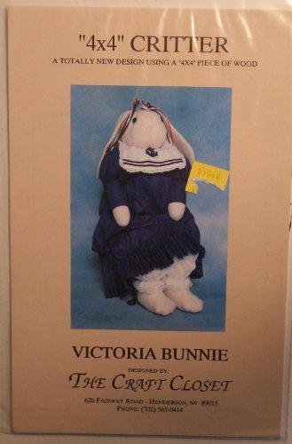 Victoria Bunnie Craft Pattern