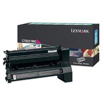 Price comparison product image Lexmark C782X1MG Magenta Extra High Yield Toner Cartridge Genuine Lexmark- Return Program