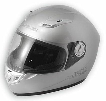 A-pro Fibra casco de la Moto GranTurismo Sport Touring BMW Honda Yamaha Plata XS