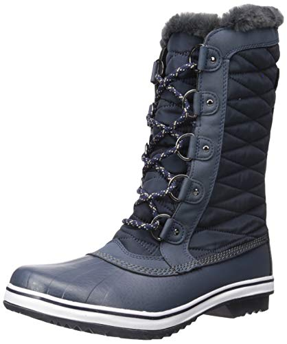 JBU by Jambu Women's Lorna Encore Weather Ready Snow Boot, Navy, 7 M US
