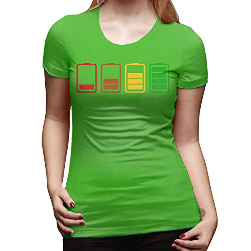 Gustave Dulles Batteries Women's Short Sleeve T Shirt Color Green Size 33 ()