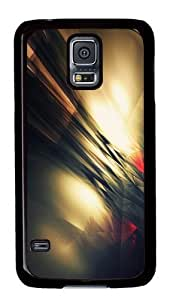 Abstract Bokeh PC Case Cover for Samsung S5 and Samsung Galaxy S5 Black