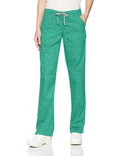 WonderWink Women's Drawstring Cargo Pant, Surgical Green, X-Small