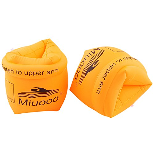 HOMEJU Inflatable Arm Floaties Swimming Equipment PVC Swimming Arm Ring Thickened Inflatable Sleeves for ()