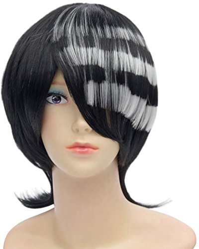 [Mixed Color Party Hair Cosplay wig Costume Wigs] (Labor Day Parade Costumes For Sale)