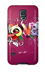 Snap On Case Cover Skin For Galaxy S5(love)