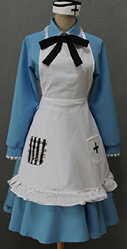APH Axis Powers Hetalia England Maid Uniform Cosplay Costume Customize Cosplay Costume]()