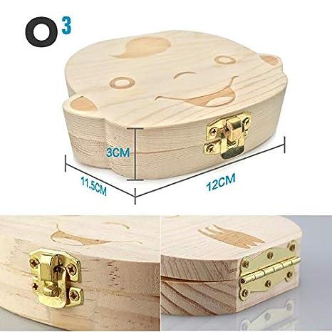 Ni/ña // Ni/ño Cajitas para Dientes De Leche O/³ Caja Dientes De Leche Espa/ñol Agradable A Medio Ambiente Ni/ña 2 Versiones Disponibles