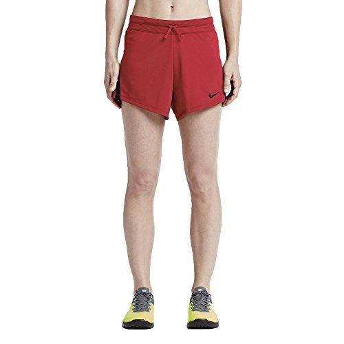 Nike Infiknit Mid Women's Training Shorts (SM x 4, Light Crimson/Black-Black)