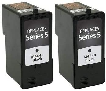 592-10092/_2PK SuppliesMAX Compatible Replacement for Dell A922//924//942//944//946//962//964 Black Inkjet Series 5 2//PK