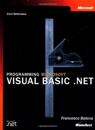 Programming Microsoft?? Visual Basic?? .NET (Core Reference) (Developer Reference) by Francesco Balena 196 (2002-05-17)