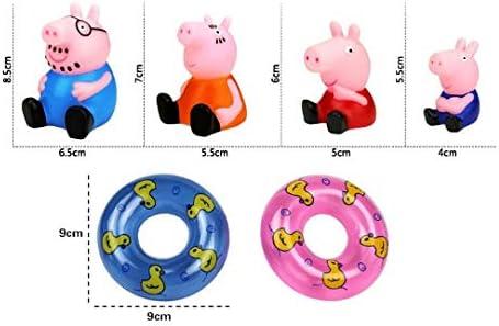 Pig Badespielzeug Badewannenspielzeug Peppa Plantschen Wutz Schorsch