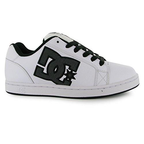 DC SERIAL GRAFFIK Skate zapatos para hombre blanco/negro Casual zapatillas zapatillas