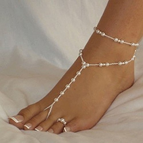 Nattypat Bridal Barefoot Jewelry Bracelet product image