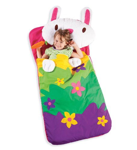 Sillies Lilly the Bunny with Carrot Kids Animal Sleeping Bag