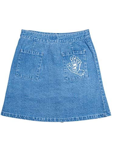 Light Screaming Hand Santa Cruz Falda Denim ORFFnvwTA
