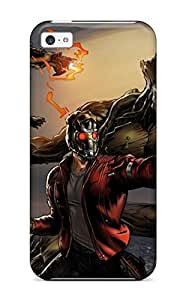 Rowena Aguinaldo Keller's Shop 3903755K58934333 Flexible Tpu Back Case Cover For Iphone 5c - Guardians Of The Galaxy