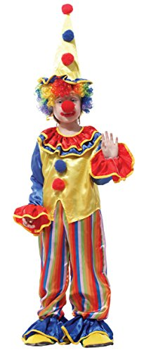 Childrens Clown Outfits (Jelord Kids Halloween Costume Clown Cosplay Outfits 7-9Y)